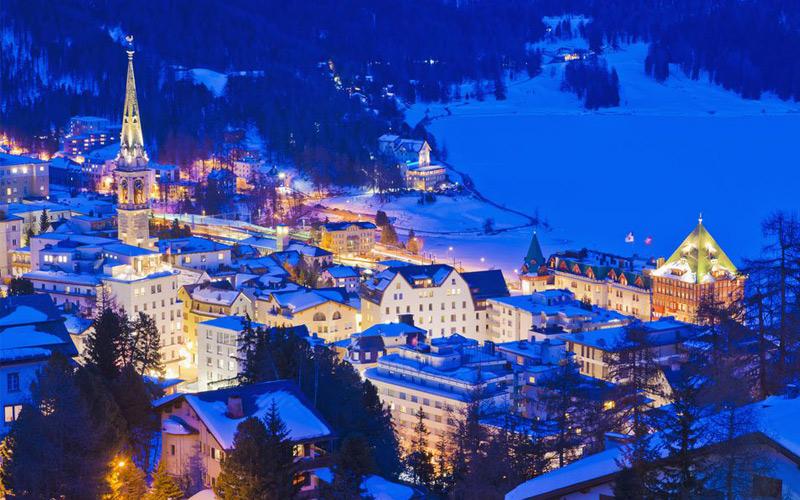 St. Moritz | Romantic places in Switzerland