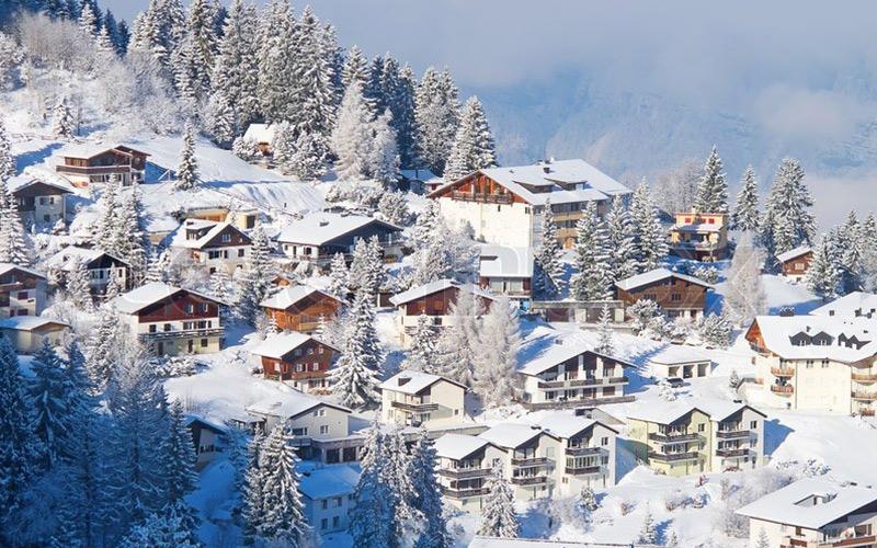 Best time to visit in Switzerland (winter in Switzerland)